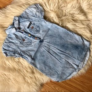 Romy & Aksel denim jean shirt dress